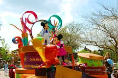 Mickey och Minnie mus arkivfoto