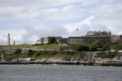 Den militära etableringen Plymouth Devon UK för kunglig citadell royaltyfri bild