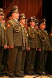Den militära kören av den ryska armén Arkivfoton