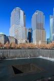 Den 9/11 minnes- platsen Arkivfoto