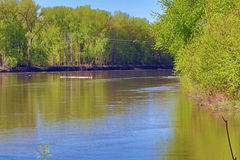 Den Minnesota floden Royaltyfri Foto