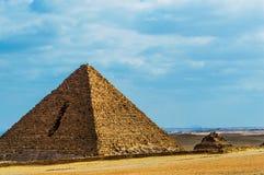 Den minsta pyramiden Royaltyfri Fotografi