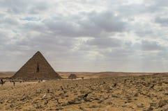 Den minsta pyramiden Arkivbild