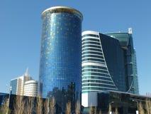 Den moderna affären står högt i Astana Royaltyfria Bilder