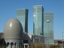 Den moderna affären står högt i Astana Royaltyfria Foton