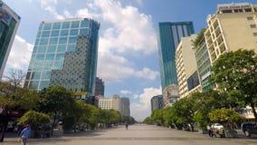 Den moderna aff?rsmitten av staden i Malaysia royaltyfria foton