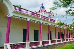 Den moderna arkitekturen av Thailand Arkivbilder