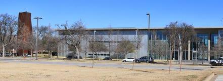 Den moderna Art Museum Fort Worth, Texas royaltyfria foton