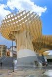Den moderna byggnaden Arkivfoto