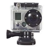 den moderna kameran waterproof Royaltyfri Bild
