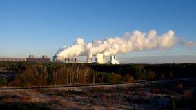 Den moderna kraftverket Boxberg lager videofilmer