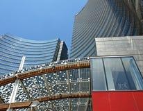Den moderna Milan arkivbilder