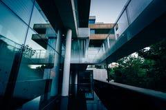 Den moderna yttersidan av huset av Sverige, i Georgetown, Washi Fotografering för Bildbyråer
