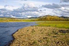 Den mongoliska naturreserven Royaltyfri Fotografi