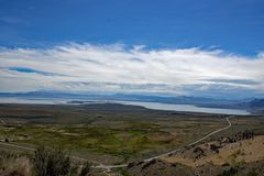Den mono sjöhandfatet förbiser - Kalifornien - USA Arkivfoton