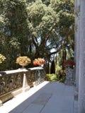 Den Monserrate slotten är en exotisk palatslik villa och gardenlocated i Sintra, Portugal, den traditionella sommarsemesterorten  Fotografering för Bildbyråer