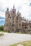 Den Moszna slotten är en historisk slott Arkivfoton