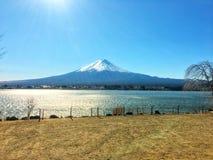 Den mountian Fujien Royaltyfri Fotografi