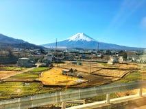 Den mountian Fujien Arkivbilder