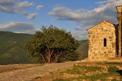 Den Mtskheta kyrkan av helgedomkorset i Georgia Royaltyfri Foto
