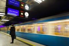 Den Munich gångtunnelen Arkivbilder