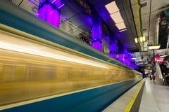 Den Munich gångtunnelen Arkivfoton