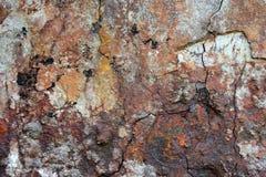 Den murkna stålväggen Royaltyfria Bilder