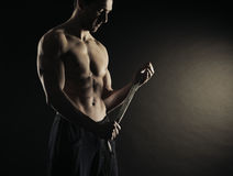 Boxareman Arkivbild