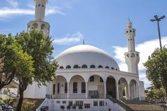 Den muslimska moskén, Foz gör Iguacu, Brasilien Arkivfoton