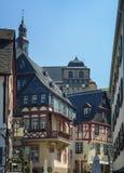 Den mycket lilla staden av vinproducenter Arkivfoto