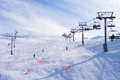 den mzaar farayaen skidar stationen Royaltyfri Foto