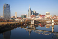 Den Nashville horisonten royaltyfri bild