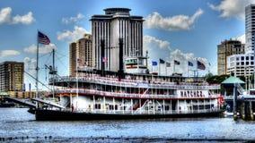 Den Natchez showboaten Royaltyfria Foton