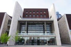 Den nationella frihetsmitten för underjordisk järnväg är ett museum i i stadens centrum Cincinnati Arkivfoton