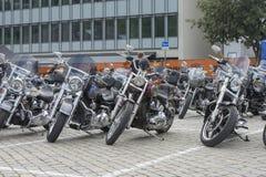 Den nationella GÖDSVINET samlar Halden, Norge 12 till 15 Juni 2014 (cyklar) Royaltyfri Fotografi