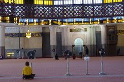 Den nationella moskén av Malaysia Royaltyfri Bild