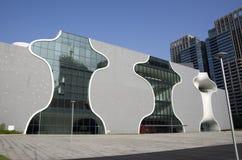 Den nationella Taichung teatern Arkivbild