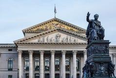 Den nationella teatern av Munich - Residenztheater i Munich, Tyskland royaltyfri fotografi