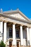Den nationella teatern i Oradea Arkivbilder