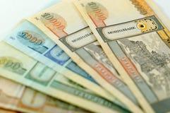 Den nationella valutan av Mongoliet Royaltyfri Fotografi
