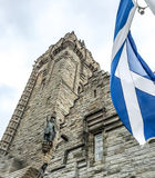Den nationella Wallace Monument, Stirling, Skottland royaltyfria foton