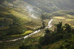 Den naturliga gränsen av Vietnam och Kina Royaltyfri Bild