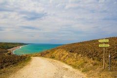 Den naturliga reserven av Punta Aderci i Abruzzo Arkivbild