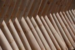 Den naturliga texturen av wood paneler Arkivbilder