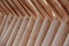 Den naturliga texturen av wood paneler Fotografering för Bildbyråer