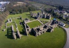 Den Neath abbotskloster fördärvar royaltyfria foton