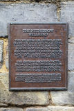 Den Netherbow Wellheadplattan i Edinburg Royaltyfri Foto
