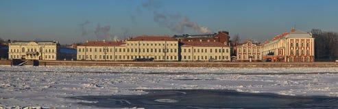 Den Neva floden Royaltyfria Bilder