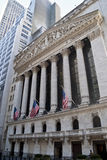 Den New York börsen Arkivfoto