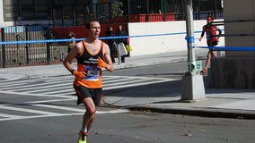 Den New York City maraton 2014 106 Arkivfoto